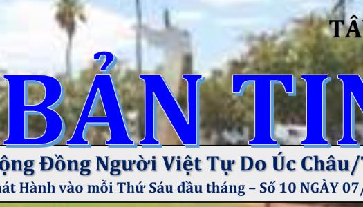 BẢN TIN TÂY ÚC